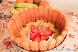 Lady Fingers Fruit Cake - Tort Diplomat-10