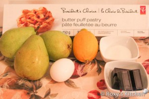 Baked Pears on Puff Pastry-1