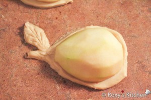 Baked Pears on Puff Pastry-8