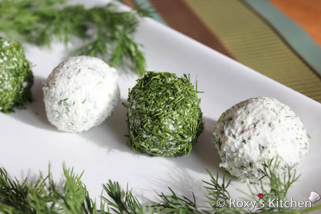 Feta Cheese Balls with Dill and Sunflower Seeds / Bilute de branza cu marar si seminte de floarea soarelui