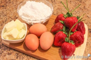 Strawberry Cupcakes - Strawberry filling ingredients