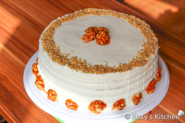 Walnut Cake - Roxy's Kitchen