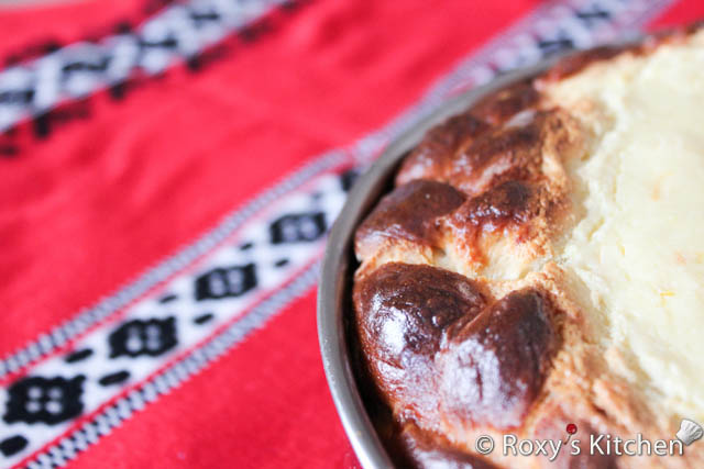 Romanian Easter Cake with Cheese (Pasca cu Branza)Roxys Kitchen