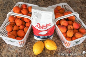 Apricot Jam - Ingredients