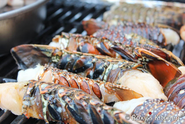 how to make lobster tails on the grill