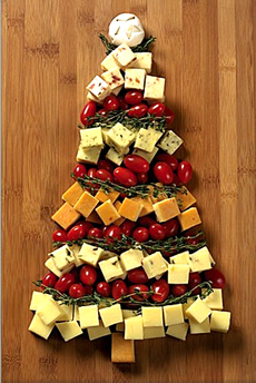 Cheese Christmas Tree - Winter Holiday Menu / Meniu de Sarbatori