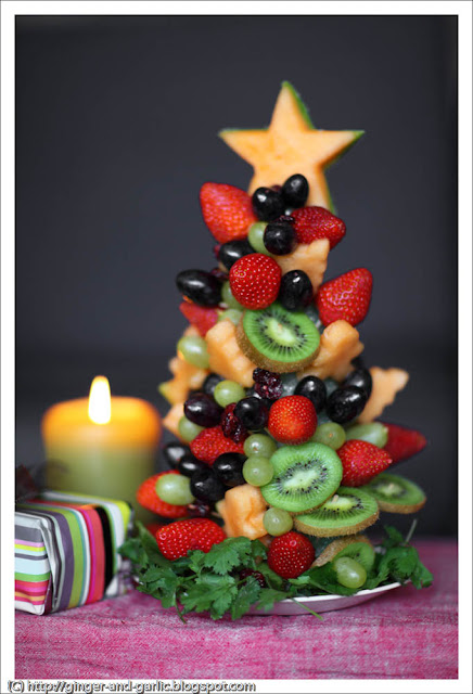 Seasoning Christmas Fruit Cake