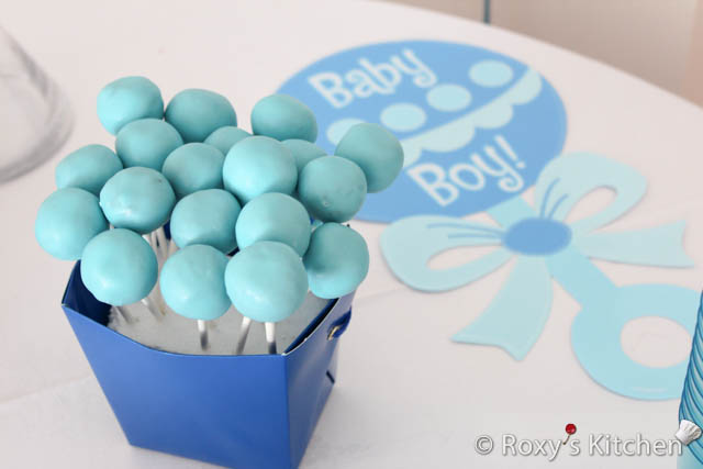 Belly Cake Pops